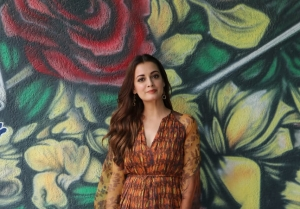 Dia Mirza and Mohit Raina snapped promoting their web series 'Kaafir'