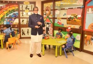 Amitabh Bachchan at the launch of NDTV Dettol Banega Swachh Bharat season 9