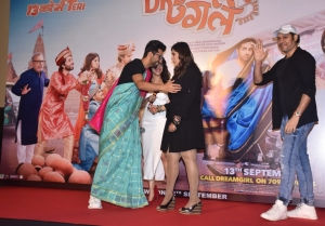 Ayushmann Khurrana and  Nushrat Bharucha Dream Girl Trailer Launch
