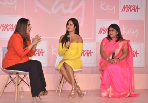 Katrina Kaif At Kay Beauty Launch
