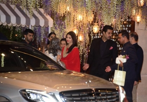 Grand Daughter of Dhirubhai Ambani's Nayantara Kothari Pre Wedding Bash