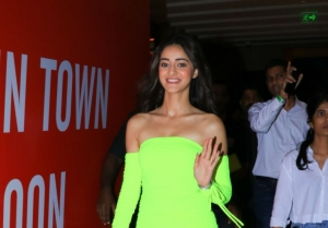 Ananya Panday at the launch of Fastrack Perfumes