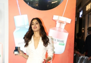 Janhvi Kapoor at the launch of United Colors of Benetton Fragrance