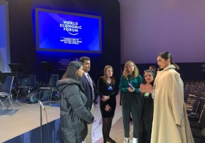 Deepika Padukone spotted at the rehearsals for World Economic Forum Crystal Awards