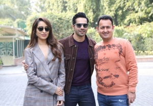 Varun Dhawan and Shraddha Kapoor promotes Street Dancer in New Delhi