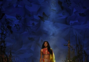 Athiya Shetty walks the Ramp at Lakme Fashion Week 2020