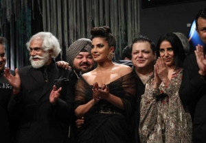 Priyanka Chopra At Blenders Pride Fashion Tour 2020