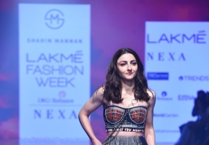 Soha Ali Khan walks the Ramp at Lakme Fashion Week 2020
