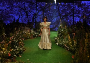 Tahira Kashyap walks the Ramp at Lakme Fashion Week 2020