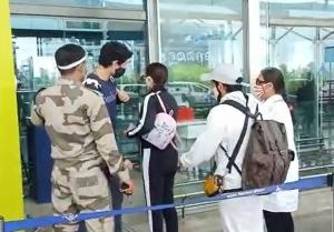 Sara Ali Khan Snapped at Goa Airport
