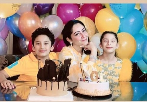 Sanjay Dutt Celebrates Twins' Birthday virtually