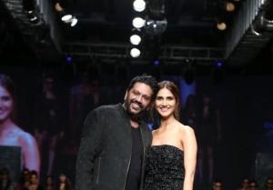 Vaani Kapoor walk the ramp at the Bombay Times Fashion Week 2021