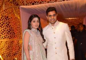 Anindith Reddy And Shriya Bhupal Wedding Photos