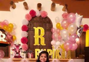 Mrs.Sridevi Vijaykumar and  Mr.Rahul's Daughter Baby Rupikaa 2nd Year Birthday Celebration