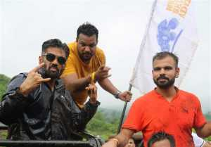 Sunil Shetty Launch India's First Off Roading Rally Mud Skull Adventure At Karjat