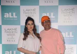 Zareen Khan At LFW Plus Size Model auditions