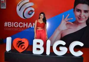 Samantha As Brand Ambassador For The New Identity Of Big C Event