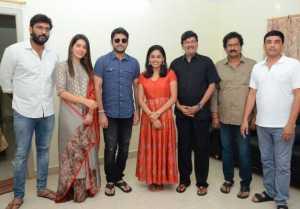 Srinivasa Kalyanam Movie Team Visited Dwaraka Tirumala Temple