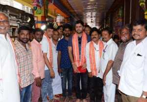 Srinivasa Kalyanam Team In Vijayawada Kanaka Durga Temple