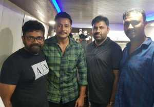 Telugu Director Sukumar Meet Kannada Actor Darshan