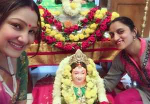Upendra And Priyanka Upendra Celebrate Ganesh Chaturthi Festival 2018