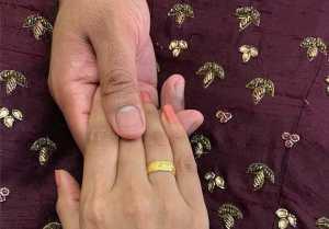 Vishnupriya Engagement Photos