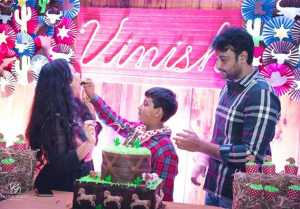 Actor Darshan Son Vineesh Birthday Celebration 2018