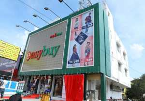 Actress Yashika Anand launched Easybuy's Store