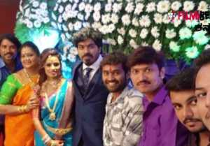 Rajahuli Movie Actor Harsha Weds Aishwarya