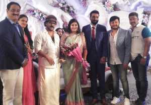 Crazy Star Ravichandran Daughter Geethanjali Engagement Photos