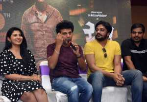 Kavacha Movie Press Meet At Mysore