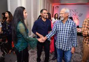 Maniratnam andSuhasini Attended The launch of Leap Wellness Studio And Indoor Golf