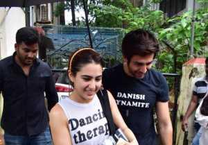 Sara Ali Khan and Kartik Aaryan Spotted Together At Dance Class