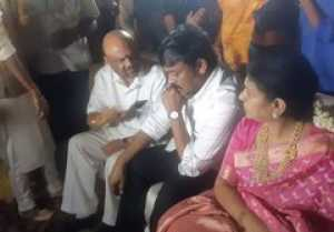 Chiranjeevi At Baswaraj Srinivas Rao Daughter Marriage