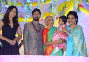 Director Bobby's Daughter Vaishu Birthday Celebrations