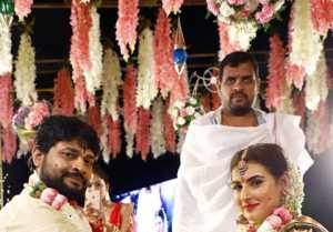 Archana  And Jagadeesh Wedding Photos