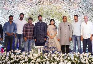 Producer Lakshman's son Ujwal Engagement Stills