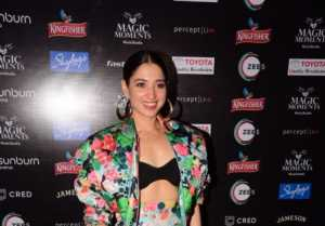 Tamannaah Bhatia With World No 1 DJ Duo Dimiti Vegas