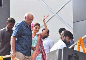Kajal Agrawal Launched Vidhatri Shopping Mall at Vijayawada