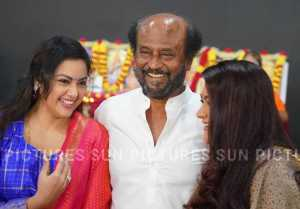 Rajinikanth's Thalaivar 168 Movie Pooja Photos