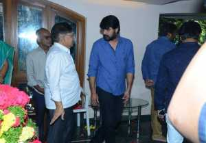 Celebs Pay Condolence To Srikanth Father Parameswara Rao