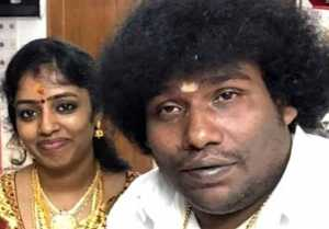Tamil Comedian Yogi Babu and Manju Marriage Photos