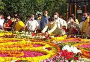 Balakrishna Pays Tribute to NTR on his Birth Anniversary