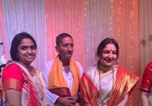 Priyanka Upendra at Durga Pujo 2020
