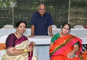 Meghana Raj and Chiru Sarja Son Thotilu Shastra