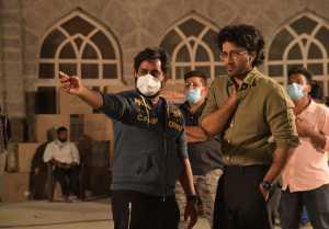 Timmarusu Movie Working Stills