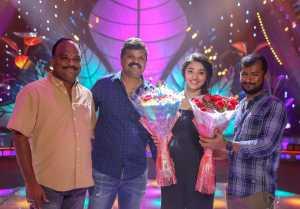 Krithi Shetty Birthday Celebrations held at Aa Ammayi Gurinchi Meekucheppali Movie Sets