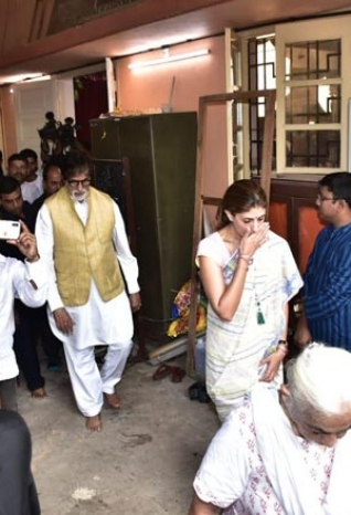 The Bachchan Family at Durga Puja Celebrations