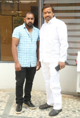 Raj Kandukuri Released Rave Naa Cheliya Movie Logo