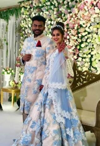 Chandan Shetty and Niveditha Gowda Engagement Photos